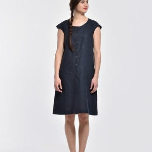 Dress - Great Britain - blue