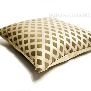 Cushion Lusito Queen of Diamonds beige
