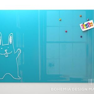 Glass Magnetic Board 100x70cm