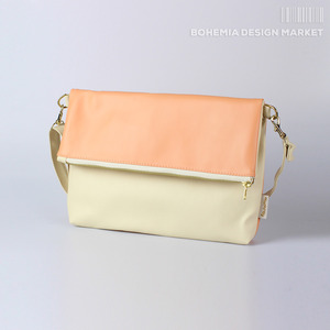 Fold Bag Beige and Apricot