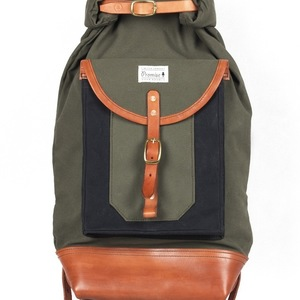 Roll Top backpack 2017 - green
