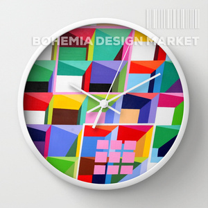 ORIGINAL WALL CLOCK - geomatrix