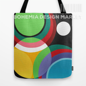 ORGINAL TOTE BAG - TOUCHES OF CIRCLES