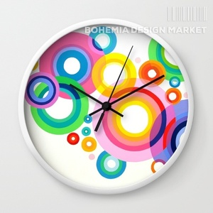 ORIGINAL WALL CLOCK - BUBBLES