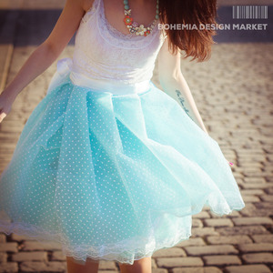 Luxury turqouise tutu