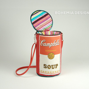 Soup handbag (red)